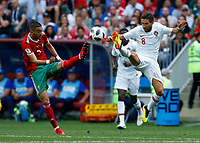 Hakim Ziyach (Morocco) and Karim El Ahmadi (Morocco)<br /> Moscow 20-06-2018 Football FIFA World Cup Russia  2018 <br /> Portugal - Morocco / Portogallo - Marocco <br /> Foto Matteo Ciambelli/Insidefoto