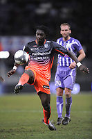 FOOTBALL - FRENCH CHAMPIONSHIP 2009/2010 - L1 - TOULOUSE FC v OLYMPIQUE LYONNAIS - 7/02/2010 - PHOTO JEAN MARIE HERVIO / DPPI - BAFETIMBI GOMIS (OL)