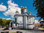Cerkiew pod wezwaniem św. Aleksandra Newskiego w Sokółce, Polska<br /> Saint Alexander Nevsky Orthodox church in Sokółka, Poland