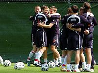 Photo: AF Wrofoto/Sportsbeat Images.<br />Poland Training Session. 07/06/2006.<br />Polish team during training.