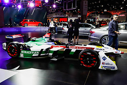 "November 7, 2018 - SãO Paulo, Brazil - SÃO PAULO, SP - 07.11.2018: SALÃO INTERNACIONAL DO AUTOMÃ""VEL SP 2018 - The International Automobile Show of São Paulo, the largest exhibition of the automotive industry in Brazil and one of the largest in Latin America, begins this Thursday (08) at the São Paulo Expo, in the south zone of the city of São Paulo. The event takes place every two years in the city of São Paulo, with the aim of showing the latest developments in the automotive world, exposing cars, equipment and accessories. (Credit Image: © Aloisio Mauricio/Fotoarena via ZUMA Press)"