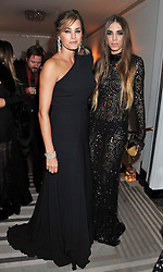 Left to right, YASMIN LE BON and AMBER LE BON at the Harper's Bazaar Women of the Year Awards 2011 held at Claridge's, Brook Street, London on 7th November 2011.