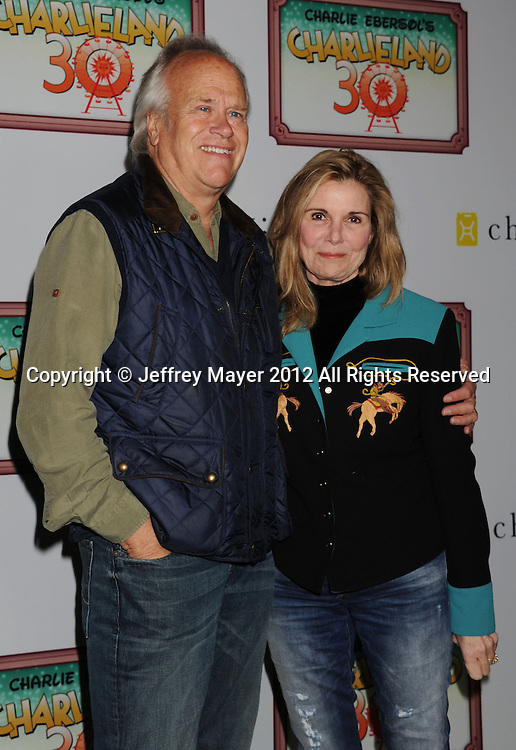 LOS ANGELES, CA - DECEMBER 08: Dick Ebersol and Susan Saint James attend Charlie Ebersol's 'Charlieland' Birthday Party And Charity: Water Fundraiser on December 8, 2012 in Los Angeles, California.