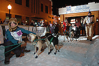 UP 200 Sled Dog Race, 2005, downtown Marquette, Michigan