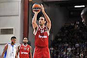 DESCRIZIONE : Eurolega Euroleague 2015/16 Group D Dinamo Banco di Sardegna Sassari - Brose Basket Bamberg<br /> GIOCATORE : Yassin Idbihi<br /> CATEGORIA : Tiro Libero<br /> SQUADRA : Brose Basket Bamberg<br /> EVENTO : Eurolega Euroleague 2015/2016<br /> GARA : Dinamo Banco di Sardegna Sassari - Brose Basket Bamberg<br /> DATA : 13/11/2015<br /> SPORT : Pallacanestro <br /> AUTORE : Agenzia Ciamillo-Castoria/C.Atzori