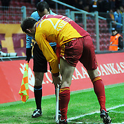 Galatasaray's Serkan KURTULUS during their Turkey Cup Quarter final matchday 2 Galatasaray between Gasiantepspor at the AliSamiYen Turk Telekom Arena in Istanbul Turkey on Wednesday 02 March 2011. Photo by TURKPIX