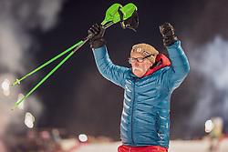 "29.01.2019, Planai, Schladming, AUT, FIS Weltcup Ski Alpin, Slalom, Herren, 2. Lauf, im Bild Vater Ferdinand Hirscher // Father Ferdinand Hirscher during the 2nd run of men's Slalom ""the Nightrace"" of FIS ski alpine world cup at the Planai in Schladming, Austria on 2019/01/29. EXPA Pictures © 2019, PhotoCredit: EXPA/ Dominik Angerer"