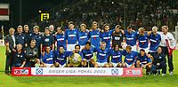 Fotball<br /> Sesongoppkjøring til Bundesliga 2003/2004<br /> <br /> Foto: Digitalsport<br /> <br /> NORWAY ONLY<br /> <br /> Hamburger SV Liga Pokal Sieger 2003 <br /> Liga Pokal Finale Borussia Dortmund - Hamburger SV 2:4