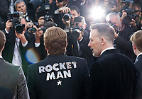 Sir Elton John and David Furnish at the Rocketman gala screening at the 72nd Cannes Film Festival Thursday 16th May 2019, Cannes, France. Photo credit: Doreen Kennedy