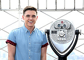 Jesse McCartney Visits The Empire State Building