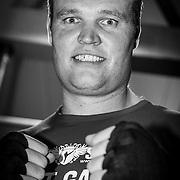 NLD/Amsterdam\/20131025 -Kickboxclinic van Sem Schilt