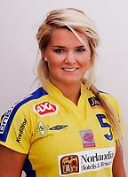 Håndball Eliteserien Kvinner , sesongen 0708 portrett portretter Christina O'Sullivan , Bækkelaget BSK