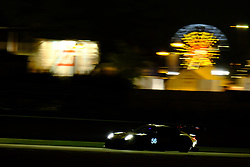 June 15, 2018 - Le Mans, Sarthe, France - Team Project 1.PORSCHE 911 RSR. Driver JORG BERGMEISTER (DEU) in action during the 86th edition of the 24 hours of Le Mans 2nd round of the FIA World Endurance Championship at the Sarthe (Credit Image: © Pierre Stevenin via ZUMA Wire)
