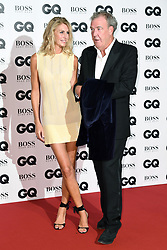 Jeremy Clarkson and Lisa Hogan attending the GQ Men of the Year Awards 2017 held at the Tate Modern, London. Picture credit should read: Doug Peters/Empics Entertainment
