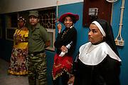 Uma festa privada durante o Carnaval do Mindelo, a capital da Ilha de São Vicente.