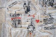Palermo Viejo graffiti