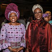 Uganda high commission attend African Fashion Week London 2019 #AFWL2019 - Day 2 at Freemasons Hall on 10 August 2019, London, UK.