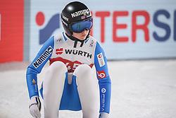02.03.2021, Oberstdorf, GER, FIS Weltmeisterschaften Ski Nordisch, Oberstdorf 2021, Damen, Skisprung, HS137, Einzelbewerb, Qualifikation, im Bild Maren Lundby (NOR) // Maren Lundby (NOR) during the qualification jump for the women ski Jumping HS137 single competition of FIS Nordic Ski World Championships 2021 Oberstdorf, Germany on 2021/03/02. EXPA Pictures © 2021, PhotoCredit: EXPA/ Tadeusz Mieczynski