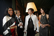 Serena Rees, Sam Taylor Wood, Francesca Amfiterof and Annabel Neilson, Ark Gala Dinner, Marlborough House, London. 5 May 2006. ONE TIME USE ONLY - DO NOT ARCHIVE  © Copyright Photograph by Dafydd Jones 66 Stockwell Park Rd. London SW9 0DA Tel 020 7733 0108 www.dafjones.com