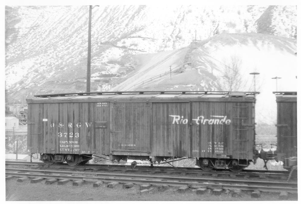 Box car #3723<br /> D&RGW