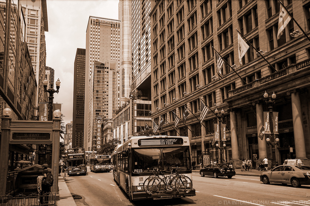 State Street, Downtown Chicago