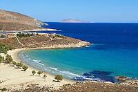 Grece, Cyclades, ile de Serifos, plage de Psili Ammos // Greece, Cyclades Islands, Serifos island, Psili Ammos beach