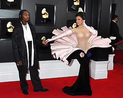 Andra Day at the 61st Annual Grammy Awards held at Staples Center on February 10, 2019 in Los Angeles, CA. © Arroyo-O'Connor / AFF-USA.COM. 10 Feb 2019 Pictured: Cardi B and Offset. Photo credit: MEGA TheMegaAgency.com +1 888 505 6342