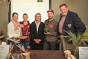 Two breeders, three chefs: Linda Colwell, Sarah Minnick of Lovely Fifty Fifty's, Carol Boutard of Ayers Creek Farm, Joshua McFadden of Ava Genes, and Anthony Boutard of Ayers Creek Farm