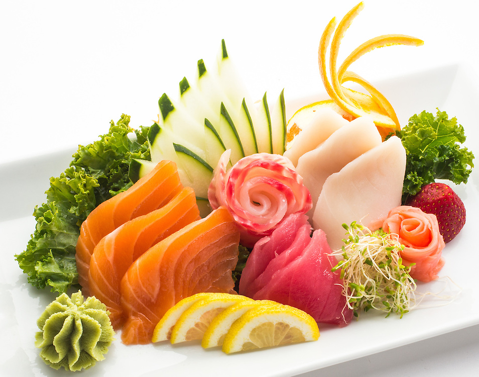 sashimi sampler,