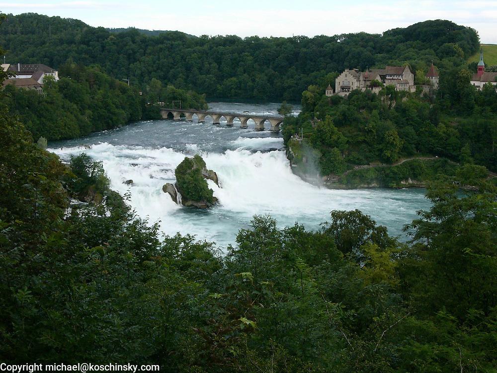 Rhine-falls, Schaffhausen, Switzerland