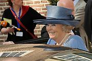 Beatrix opent tentoonstelling Máxima, 10 jaar in Nederland.//<br /> Queen Beatrix opens the exibition Maxima 10 years in the Netherlands<br /> <br /> Op de foto:<br /> <br />  Koningin Beatrix / Queen Beatrix