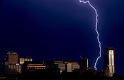Lightning illuminates the sky on Sunday, June 9, 2019, in Austin, Texas. NICK WAGNER / AMERICAN-STATESMAN