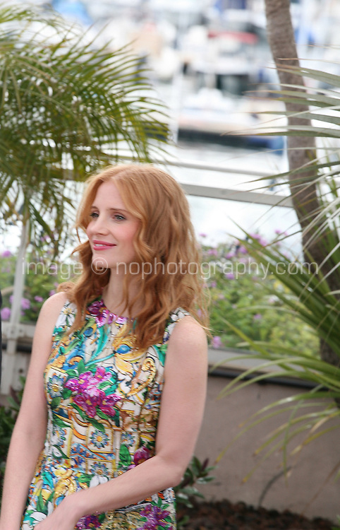 Jessica Chastain at the Madagascar 3: Europe's Most Wanted photocall at the 65th Cannes Film Festival. Friday 18th May 2012 in Cannes Film Festival, France.