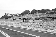 Heading north on highway 89 near the Page turnoff