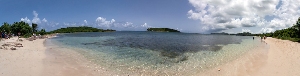 Vieques,Puerto Rico Beach at Esperanza in the south side of Vieques Island, Puerto Rico