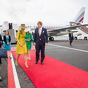 LUX/Luxembug/20180523 - Staatbezoek Luxemburg 2018 dag 1, Willem-Alexander en Maxima