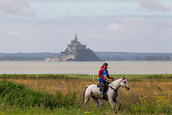 Raed Mahmood, (BRN), Sourya La Marjorie<br /> Alltech FEI World Equestrian Games™ 2014 - Normandy, France.<br /> © Hippo Foto Team - Leanjo de Koster<br /> 25/06/14