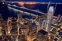 Bay Bridge & Salesforce Tower, Downtown San Francisco