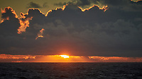 Sunset from the Aft Deck of the MV Explorer. Image taken with a Nikon D800 camera and 70-300 mm VR lens.