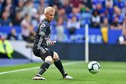 May 12, 2019 - Leicester, England, United Kingdom - Leicester City goalkeeper Kasper Schmeichel (1) in action during the Premier League match between Leicester City and Chelsea at the King Power Stadium, Leicester on Sunday 12th May 2019. (Credit Image: © Mi News/NurPhoto via ZUMA Press)