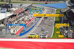 03.08.2014, Red Bull Ring, Spielberg, AUT, DTM Red Bull Ring, Renntag, im Bild Timo Glock, (GER, 3. Platz, Rennen, Deutsche Post BMW M4 DTM), Marco Wittman, (GER, 1. Platz, Rennen, Ice-Watch BMW M4 DTM) // during the DTM Championships 2014 at the Red Bull Ring in Spielberg, Austria, 2014/08/03, EXPA Pictures © 2014, PhotoCredit: EXPA/ M.Kuhnke