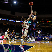 Mar 12 2019  Las Vegas, NV, U.S.A. St. Mary's guard Tommy Kuhse (12) drives to the basket during the NCAA  West Coast Conference Men's Basketball Tournament championship between the Gonzaga Bulldogs and the Saint Mary's Gaels 60-47 win at Orleans Arena Las Vegas, NV.  Thurman James / CSM