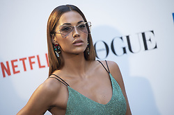 September 13, 2018 - Madrid, Spain - Michelle Calvo attends to photocall of Vogue Fashion Night Out 2018 in Madrid, Spain. September 14, 2018. (Credit Image: © Coolmedia/NurPhoto/ZUMA Press)