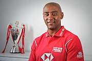 In this handout image provided by HSBC, George Gregan poses for a portrait during the Gold Coast Sevens in the IRB HSBC Sevens World Series at Skilled Park on October 11, 2012 in Gold Coast, Australia.