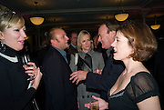 JESSICA FELLOWES; SIMON WHEELER; HERMIONE NORRIS; CHRISTOPHER CAZENOVE, ISABEL DAVIS. Book launch for the book by Julian Fellowes 'Past Imperfect.' Cadogan Hall. Sloane Terrace. London. 4 November 2008 *** Local Caption *** -DO NOT ARCHIVE -Copyright Photograph by Dafydd Jones. 248 Clapham Rd. London SW9 0PZ. Tel 0207 820 0771. www.dafjones.com