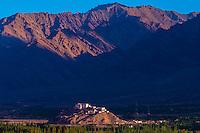 Stakna Monastery, Leh Valley, Ladakh, Jammu and Kashmir State, India.