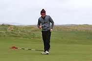 Josh Mackin (Dundalk) puts on the 18th to win the Ulster Boys Championship at Donegal Golf Club, Murvagh, Donegal, Co Donegal on Friday 26th April 2019.<br /> Picture:  Thos Caffrey / www.golffile.ie