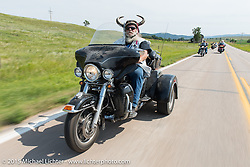 The annual Legends Ride from Deadwood to Sturgis during the 75th Annual Sturgis Black Hills Motorcycle Rally.  SD, USA.  August 3, 2015.  Photography ©2015 Michael Lichter.