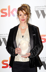 Julia Davis received the creative skillset writing award at the Women in Film & TV Awards at the Hilton hotel in central London.