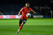 Luton Town forward Elliott Lee (10) sprints forward with the ball during the EFL Sky Bet Championship match between Luton Town and Nottingham Forest at Kenilworth Road, Luton, England on 28 October 2020.